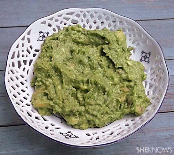 Fatty…straight-up guacamole