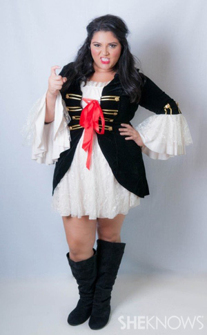 Captain Swashbuckler Costume (Torrid, $70)