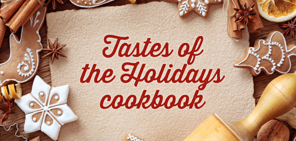 tastes of the holidays cookbook
