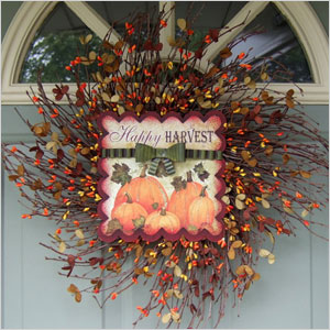 Fall wreath | Sheknows.ca