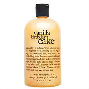 Vanilla birthday cake shampoo, gel, and bubble bath | Sheknows.ca