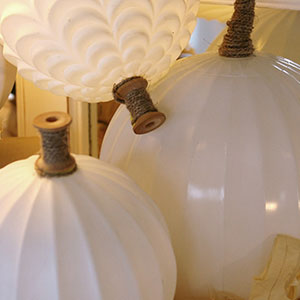 Glass globe pumpkins | Sheknows.ca