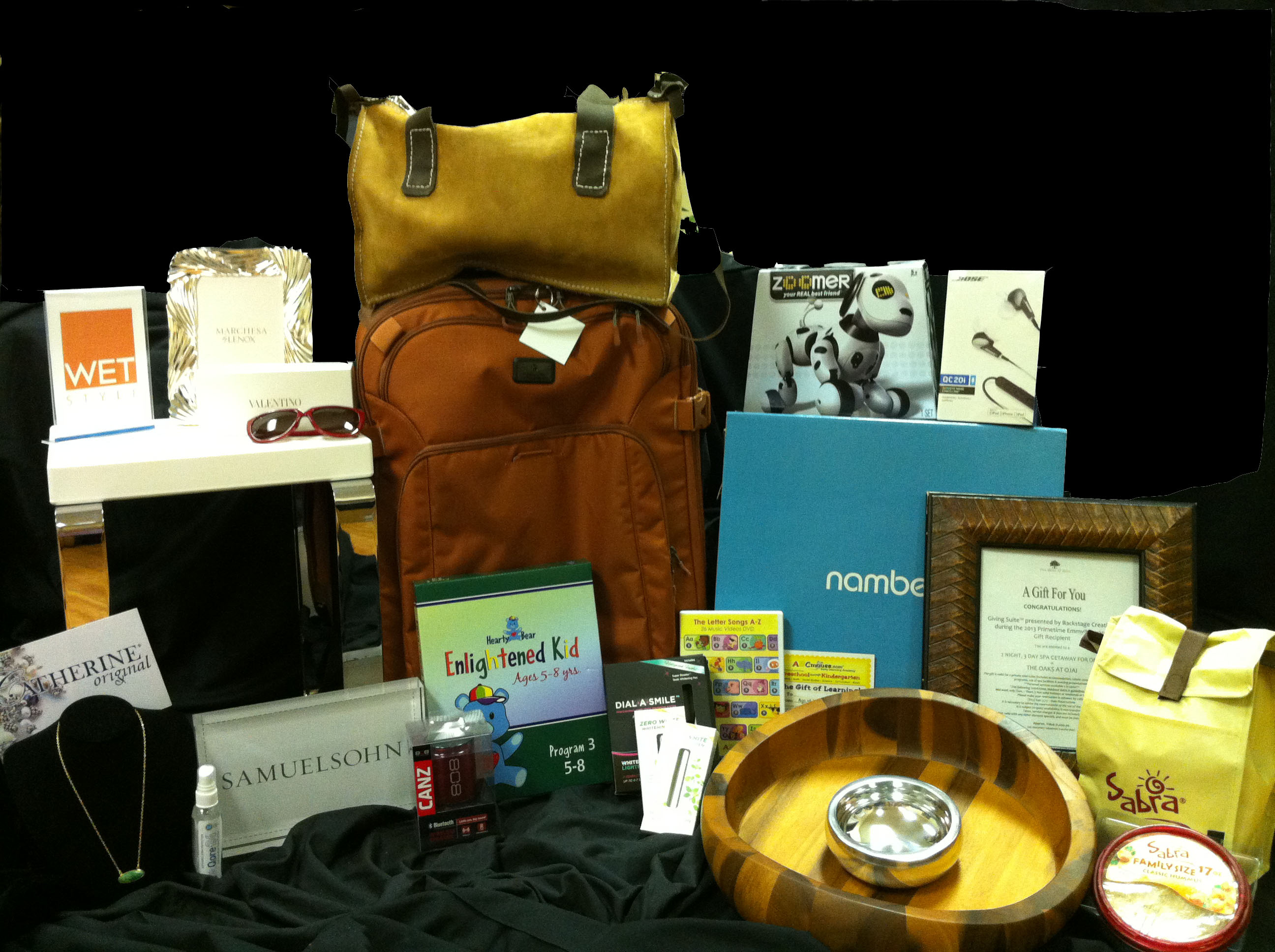 Official Emmys gift bag giveaway at SheKnows.com!