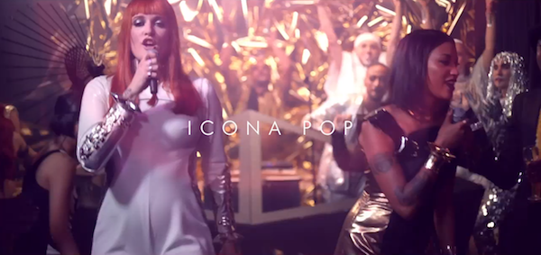 Icona Pop is having a (vogue) ball