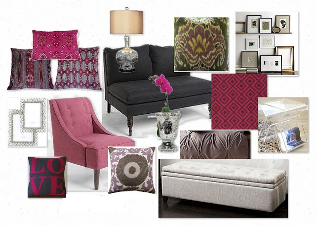 ikat inspiration board