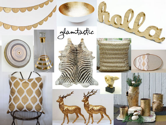 2013 home decor trends we hope never grow old Home decor gold