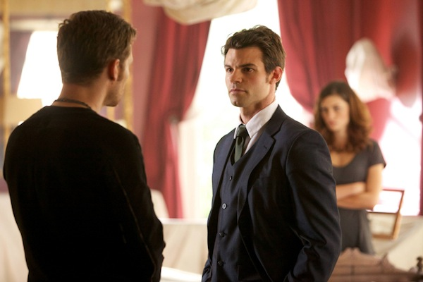 Elijah and Klaus face off in The Originals