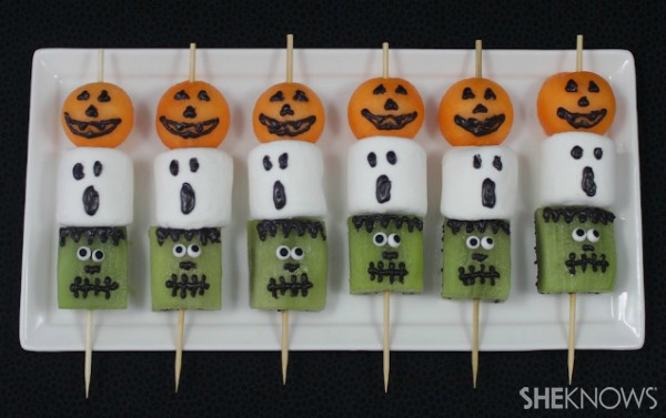Frightful fruit kabobs | SheKnows.com