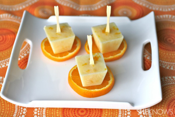 Gluten-free Goodie of the Week: Creamy orange freezer pops