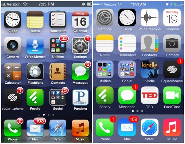 iOS7 screenshot