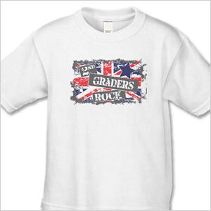 2nd graders rock shirt