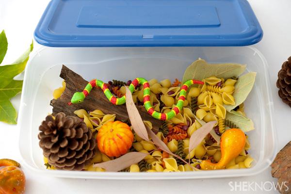 Fall sensory box