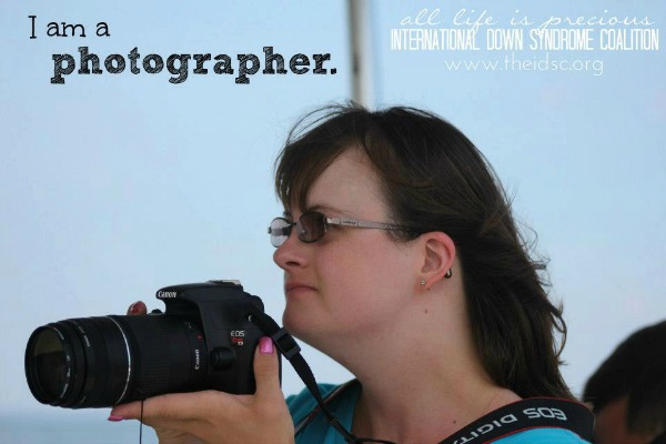 Down Syndrome - I am a photographer