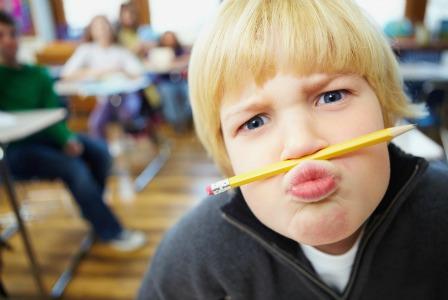 Annoying kid in school