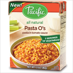Pacific Foods meals