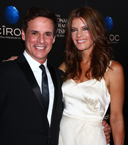 Michelle Stafford and Christian LeBlanc