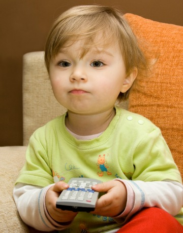 Toddlers tuning in too often
