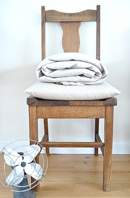 DIY Linen Throw Blanket