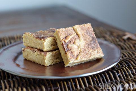 Snickerdoodle brownie recipe