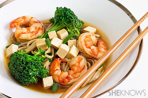 recipe: seafood soba soup [2]