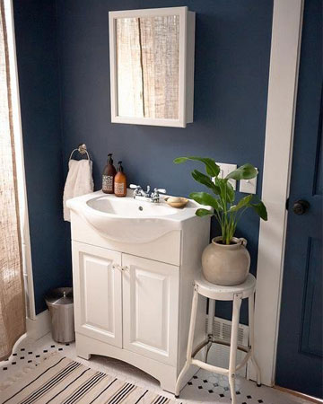 Add fall flare to the bathroom