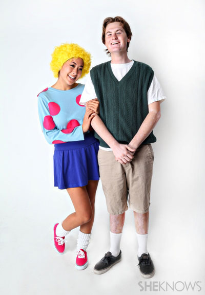 How to make Patti Mayonnaise and Doug Funnie Halloween ... Quailman