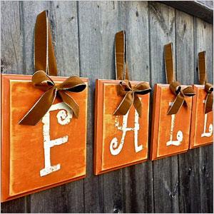 Fall signage