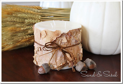 Fall centerpieces on a budget