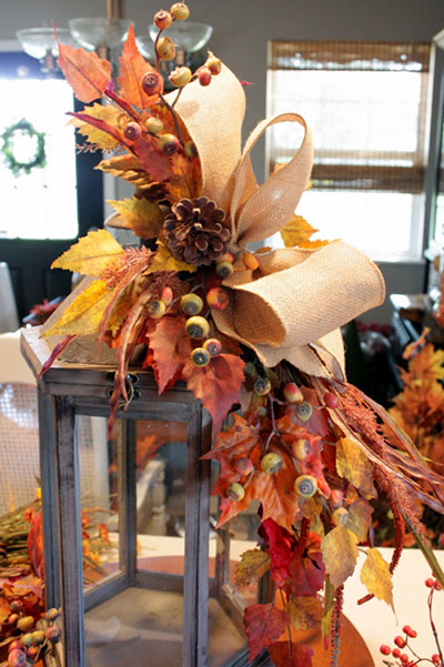 Autumn centerpieces you can make for free