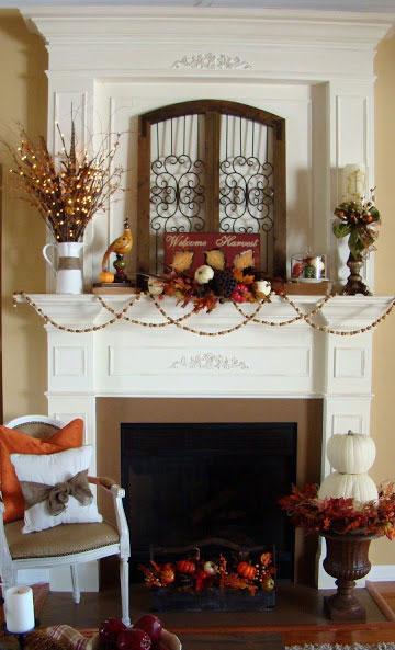 Autumn mantel love
