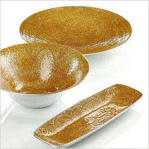 Simply Designz Gold Raj Tray