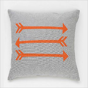 NEST Arrow Chambray Pillow