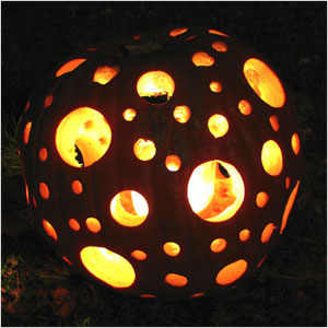 Holey pumpkin