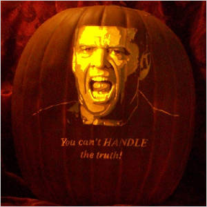 Hire an expert to mold your jack-o'-lantern
