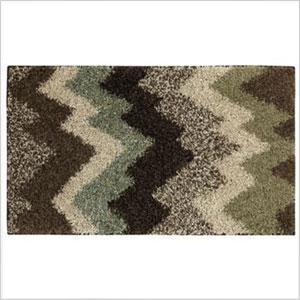 Fall chevron rug