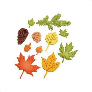 F all foliage stencils