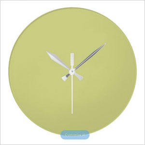 Linden Green Upscale Matching Wall Clock