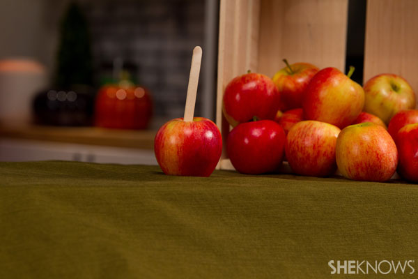 Caramel apples get a makeover