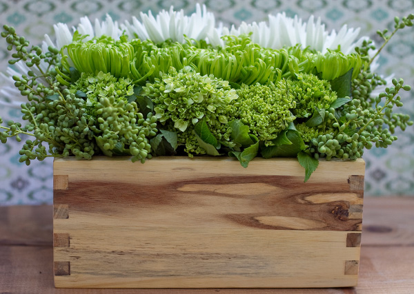 Boxed florals