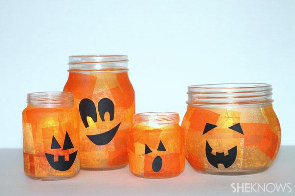 Make a family of jack-o'-lanterns!