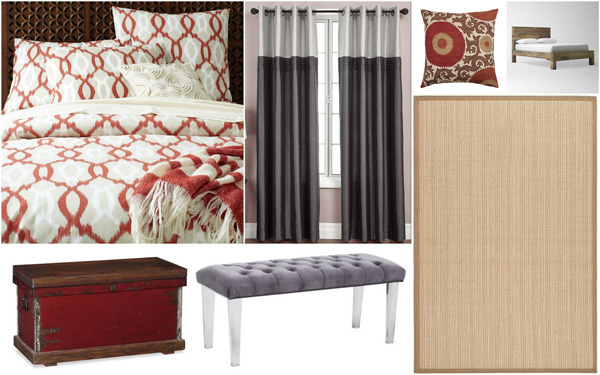 Fall-inspired bedroom designs