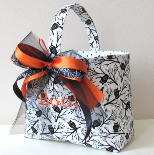 Etsy personalized Halloween basket