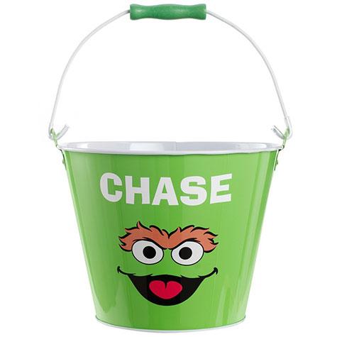 Sesame Street personalized pail