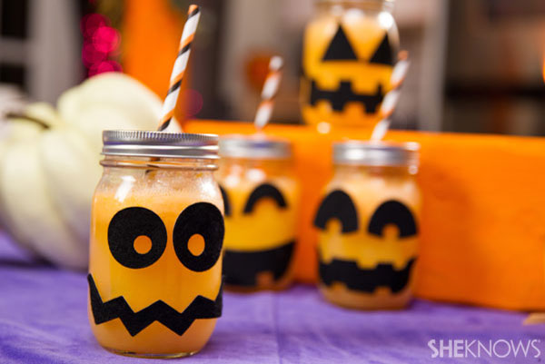 Fizzy pumpkin party drink Step 6: Enjoy