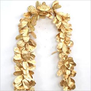 Gold-Leafed Garland