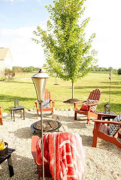 Warm up your outdoor entertaining for fall