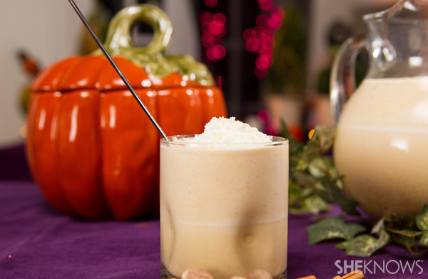 Pour yourself a little pumpkin!