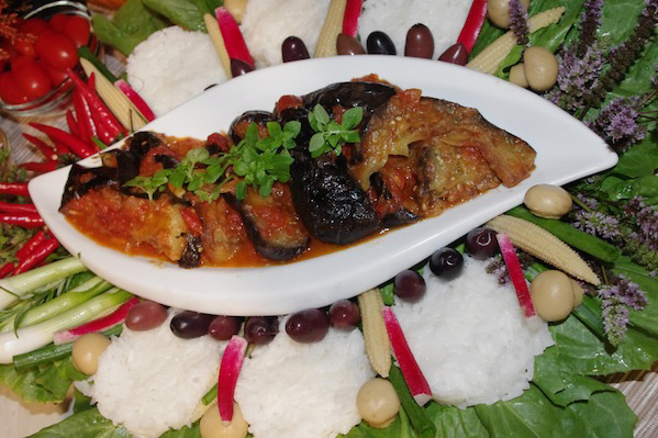 Fried Aubergines from Fusion Mom