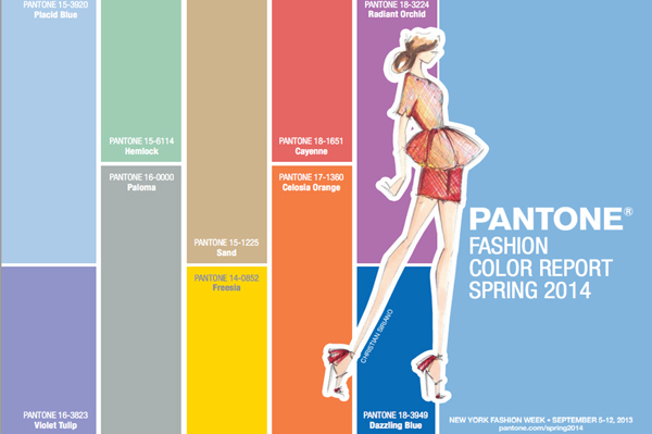 Panton color report