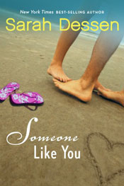 Someone like you book cover.